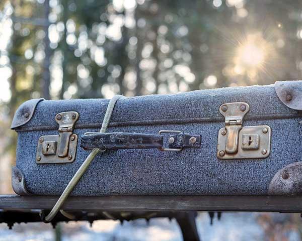 old luggage